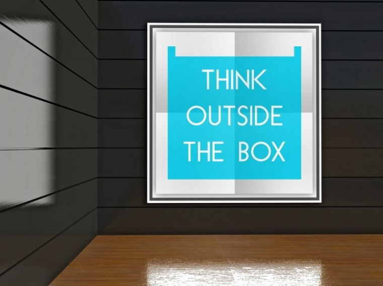 Think outisde the box